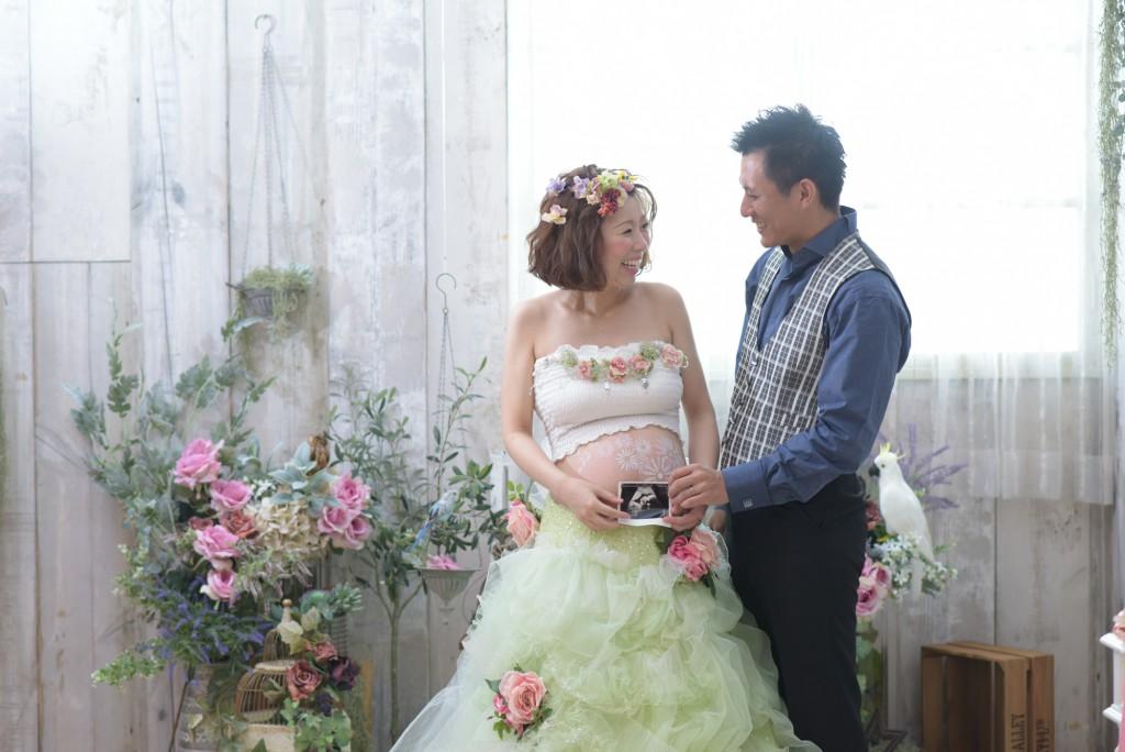 フォトウェディング マタニティフォト 花嫁 マタママ ウェディング 結婚 結婚式 福岡 北九州 家族