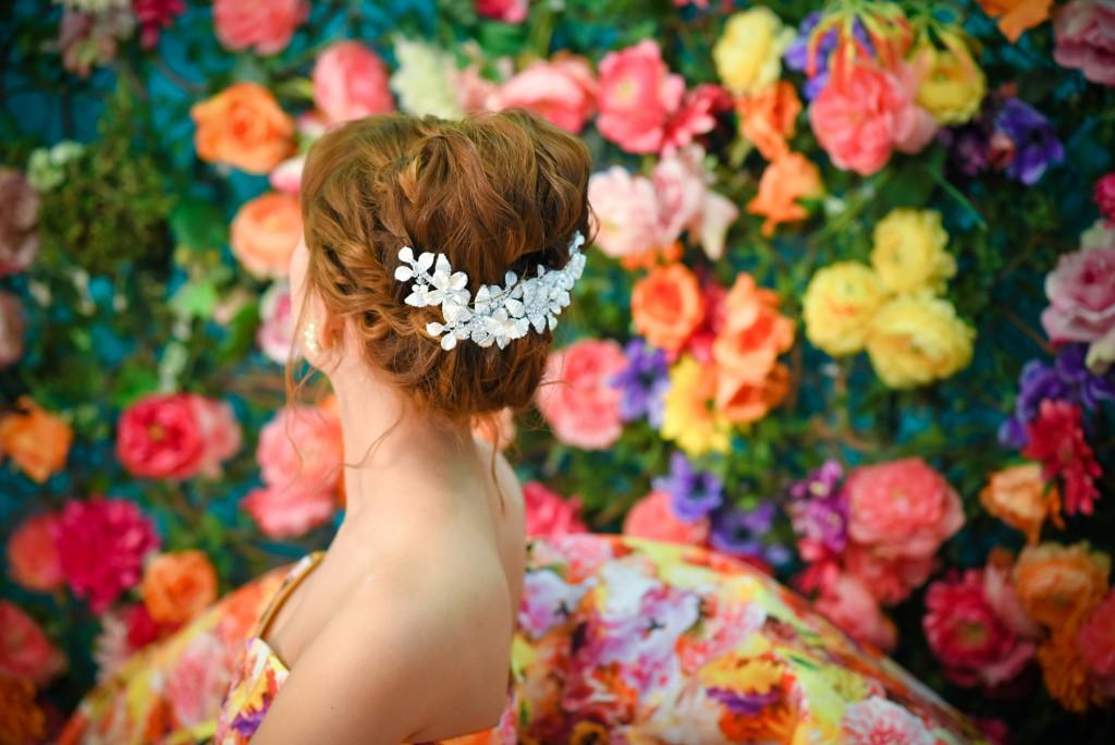ブライダルヘア ヘアアレンジ 北九州 福岡 フォトウェディング 結婚式 前撮り