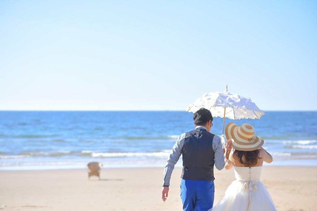 フォトウェディング 北九州 福岡 海 岩屋 結婚式 前撮り