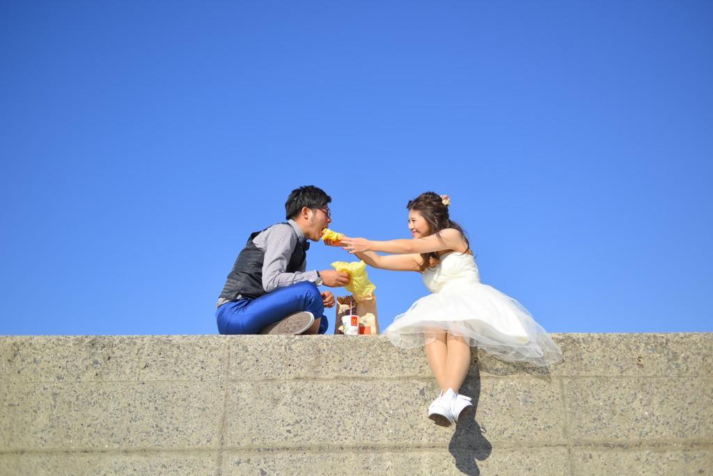 フォトウェディング 北九州 福岡 海 岩屋 前撮り 結婚式