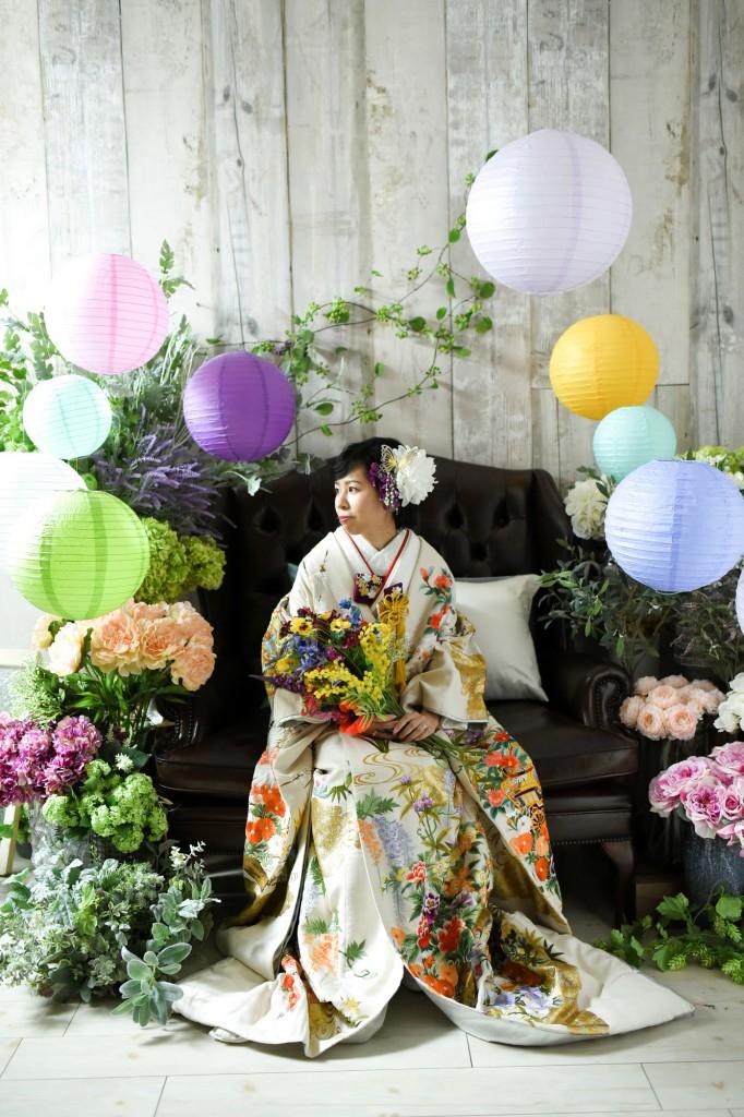 フォトウェディング 北九州 福岡 結婚写真 結婚式 花嫁 和装 花嫁髪型
