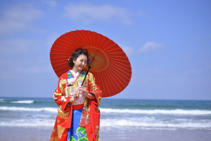 フォトウェディング 北九州 福岡 海 ロケ 花嫁 結婚式 結婚 前撮り 式場