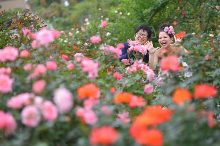 フォトウェディング 北九州 花嫁 前撮り